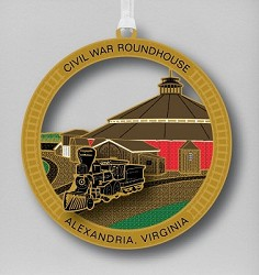 Roundhouse Ornament (2012)