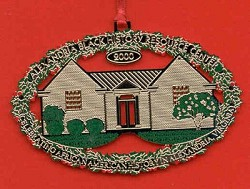 Alexandria Black History Ornament (2000)