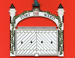 Fort Ward Ornament (1998)