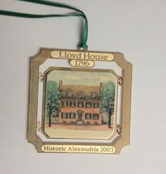 Lloyd House Ornament (2003)