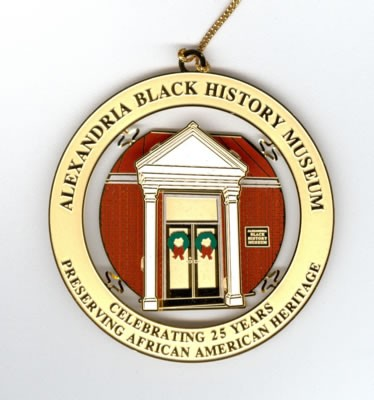 Alexandria Black History Ornament (2008)