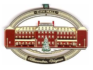 City Hall Ornament (2007)