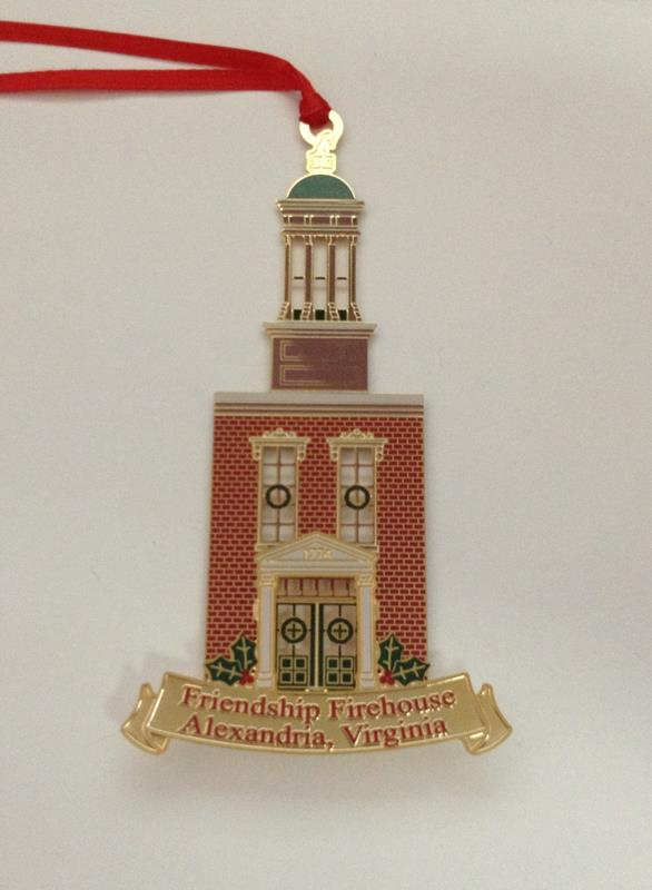 Friendship Firehouse Ornament (2009)