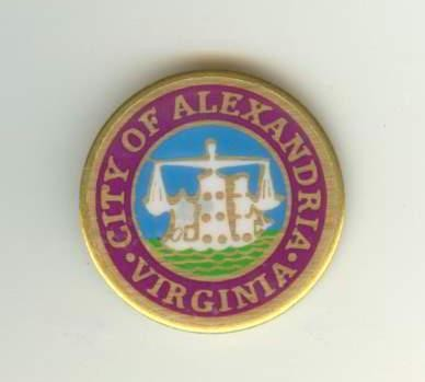 City Seal Lapel Pin