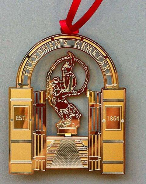 Freedmen's Cemetery Ornament