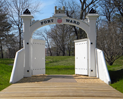 Fort Ward Ceremonial Gate