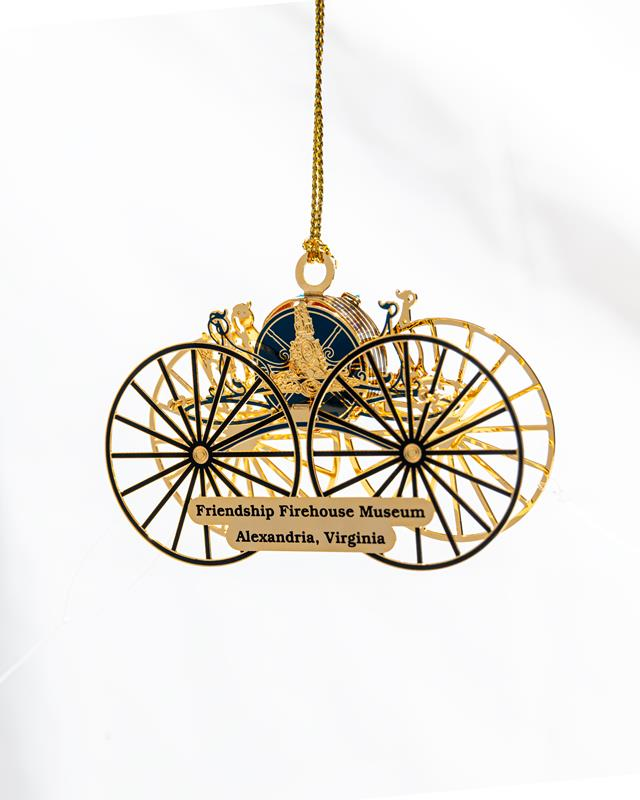 Friendship Firehouse Hose Reel Ornament (2020)