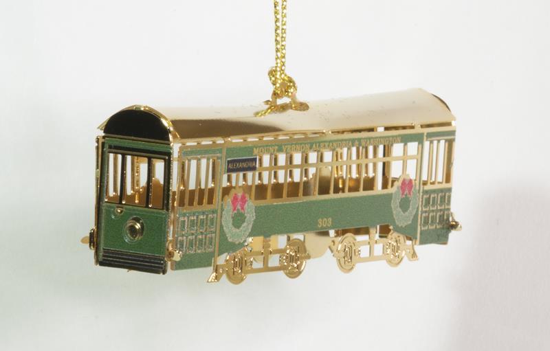 Trolley Ornament 2021